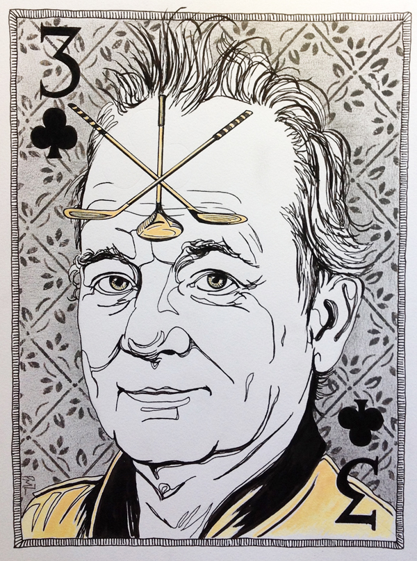 Bill Murray-Three of Clubs card-Patrushka-web.jpg