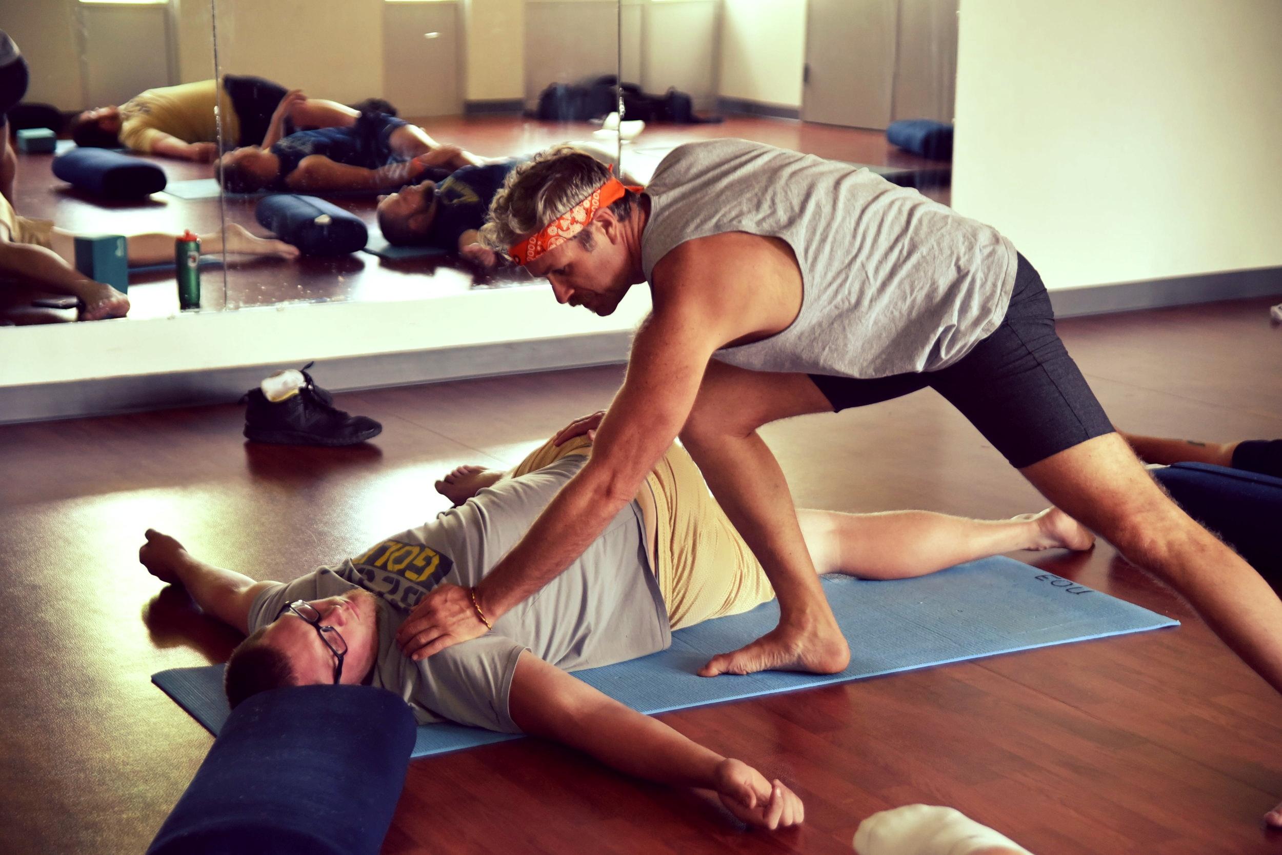 The Kula Dudes Program - Building brotherhood through yoga.