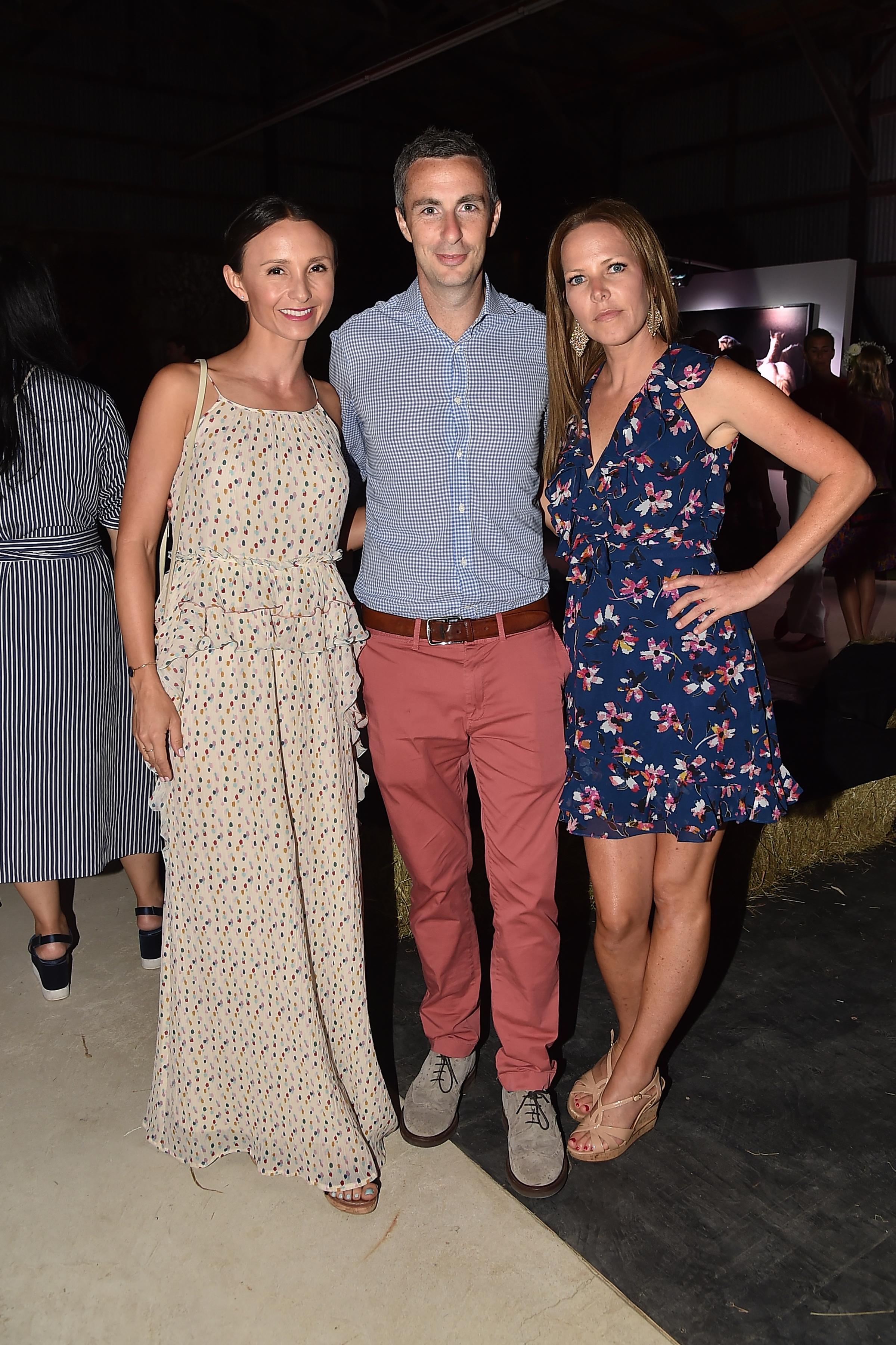 Georgina Bloomberg, Michael Katz & Brigid Fitzgerald at f2f First Annual Fundraiser
