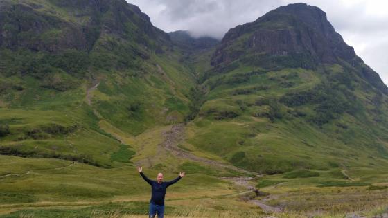 Coach Mark McNulty in Scotland