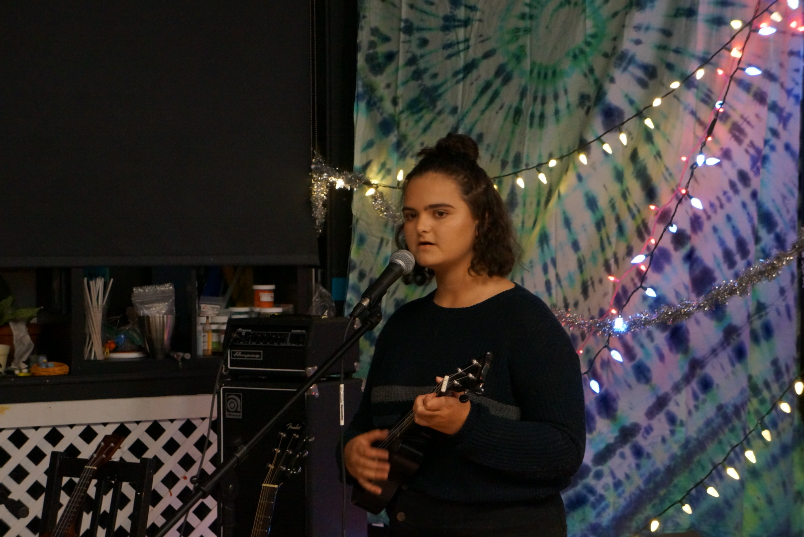 Katelyn Sansotta performed What a Wonderful World by Louis Armstrong