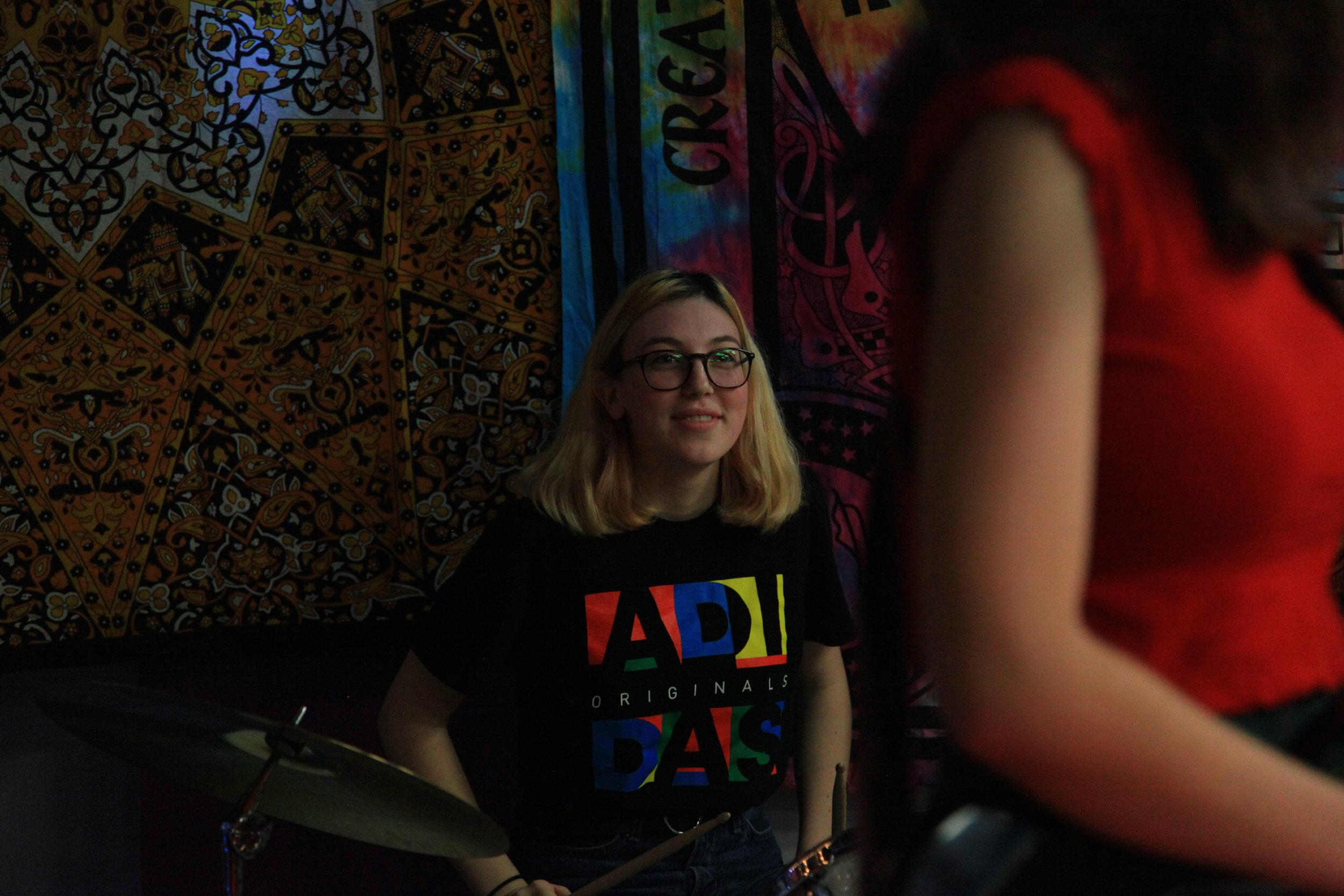 Annabelle, Key Lime's drummer