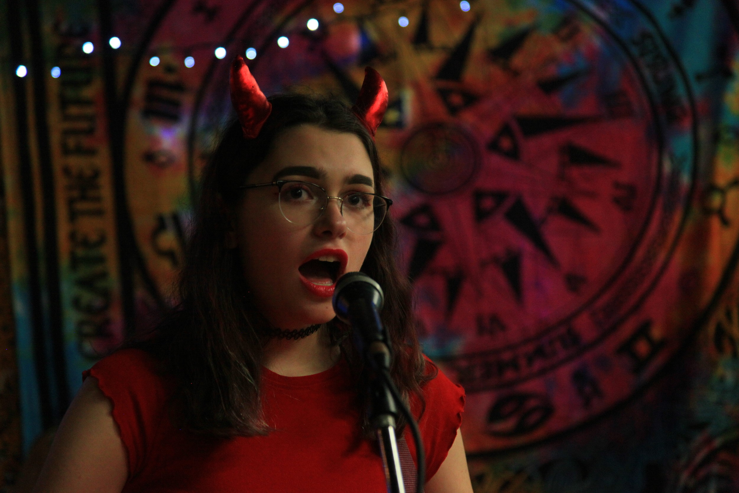 Charlotte, singer of Key Lime