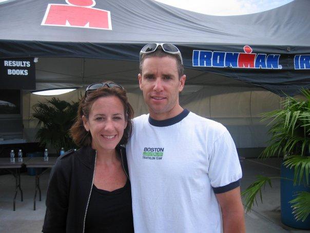Me and Jenn at 2007 Ironman Florida