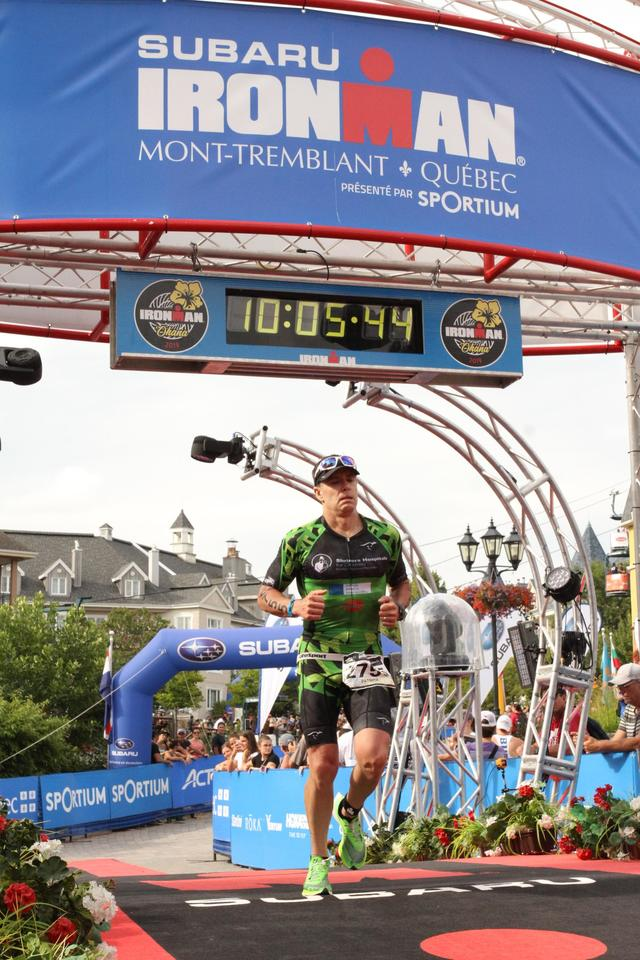 Ironman never changes the clocks for the first group of amateurs!