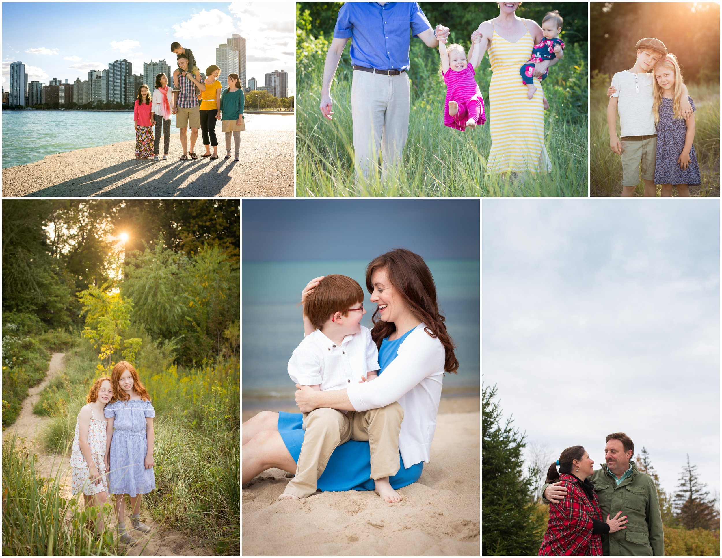 Outdoor family portraits I've taken over the years