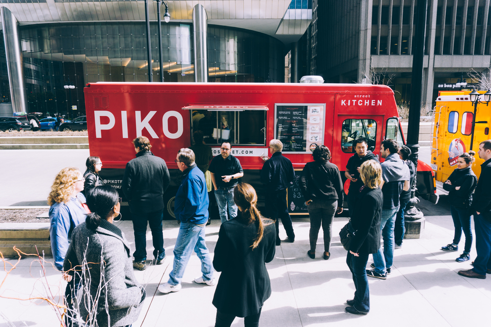 Food truck piko at Chicago Boudoir Photography