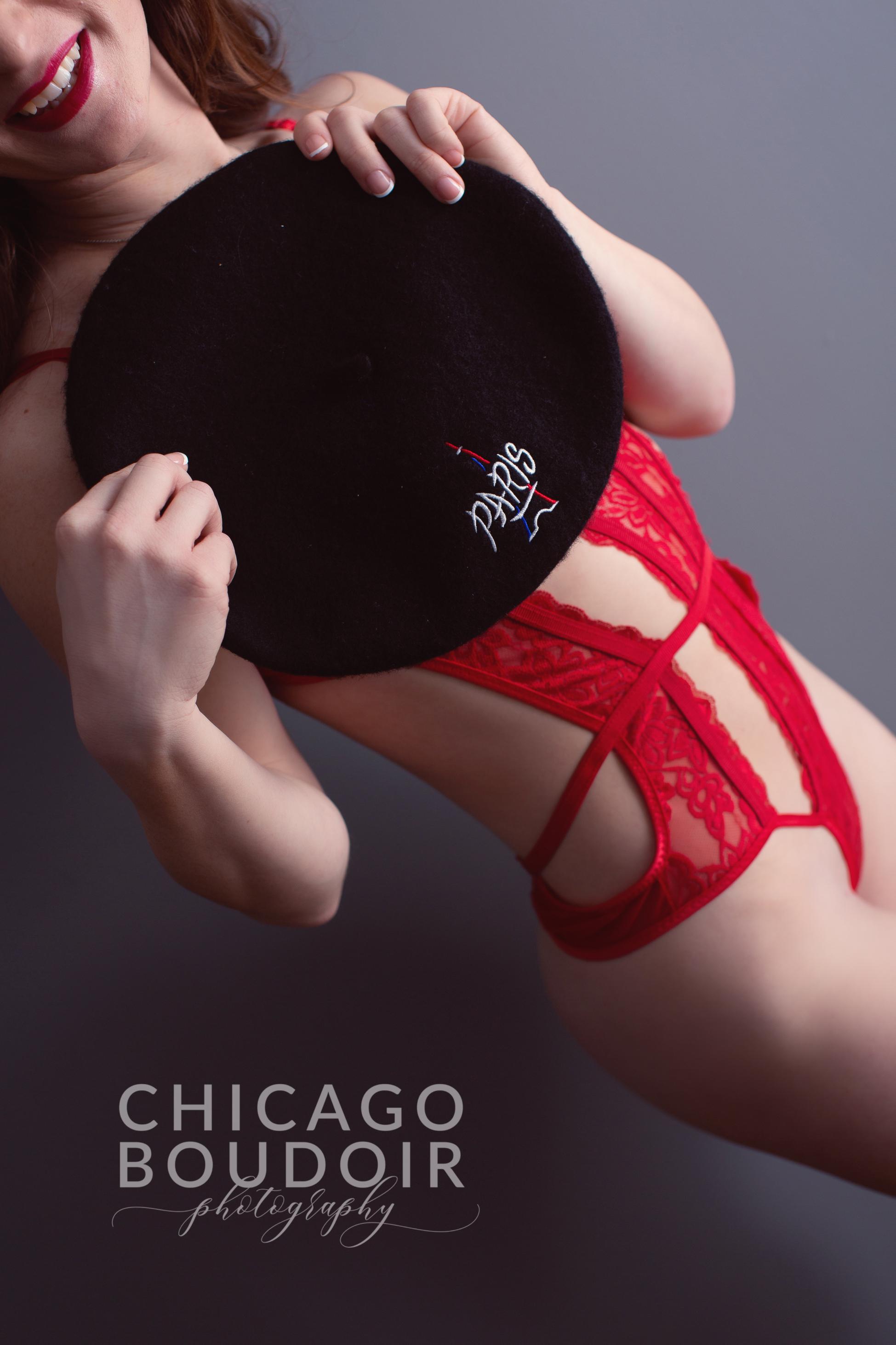 bouree hat paris souvenir chicago boudoir photography