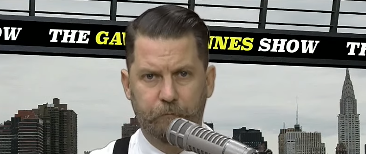 Pictured: Gavin McInnes appearing live on Louder With Crowder Photo courtesy of Steven Crowder, CC BY 3.0, https://commons.wikimedia.org/w/index.php?curid=54861544