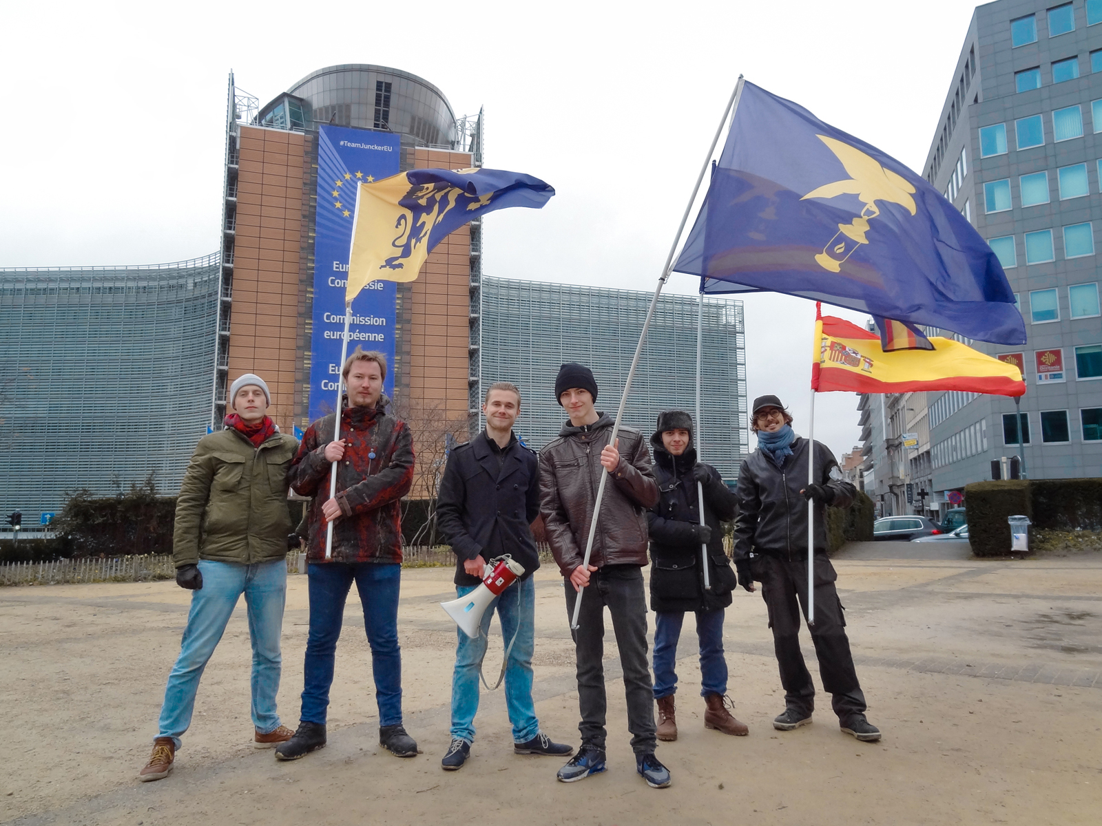 #TakeBackTheNet - 2019-01-26LIA and De Liberalisten organised a protest on the 26th of January against Article 11 and 13 of the Directive on Copyright in the Digital Single Market.