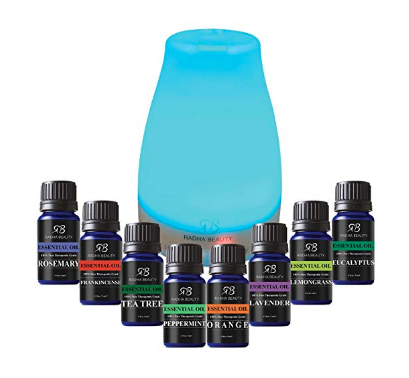 4. Oil Diffuser - If you don't already own an oil diffuser be ready to have your life changed. Aromatherapy is so beneficial as the oils are released into the air around us and gently absorbed by our body producing a great effect. I like to mix lavender and eucalyptus at night for a calming, relaxing effect before bed. And orange and frankincense in the morning to really wake me up and heighten my mood.