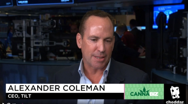 Click Image Above  to view an interview of Sea Hunter Co-Founder and TILT Holdings CEO, Alex Coleman, as he joins Cheddar to discuss consolidation and explain how TILT's strategic move came to be.