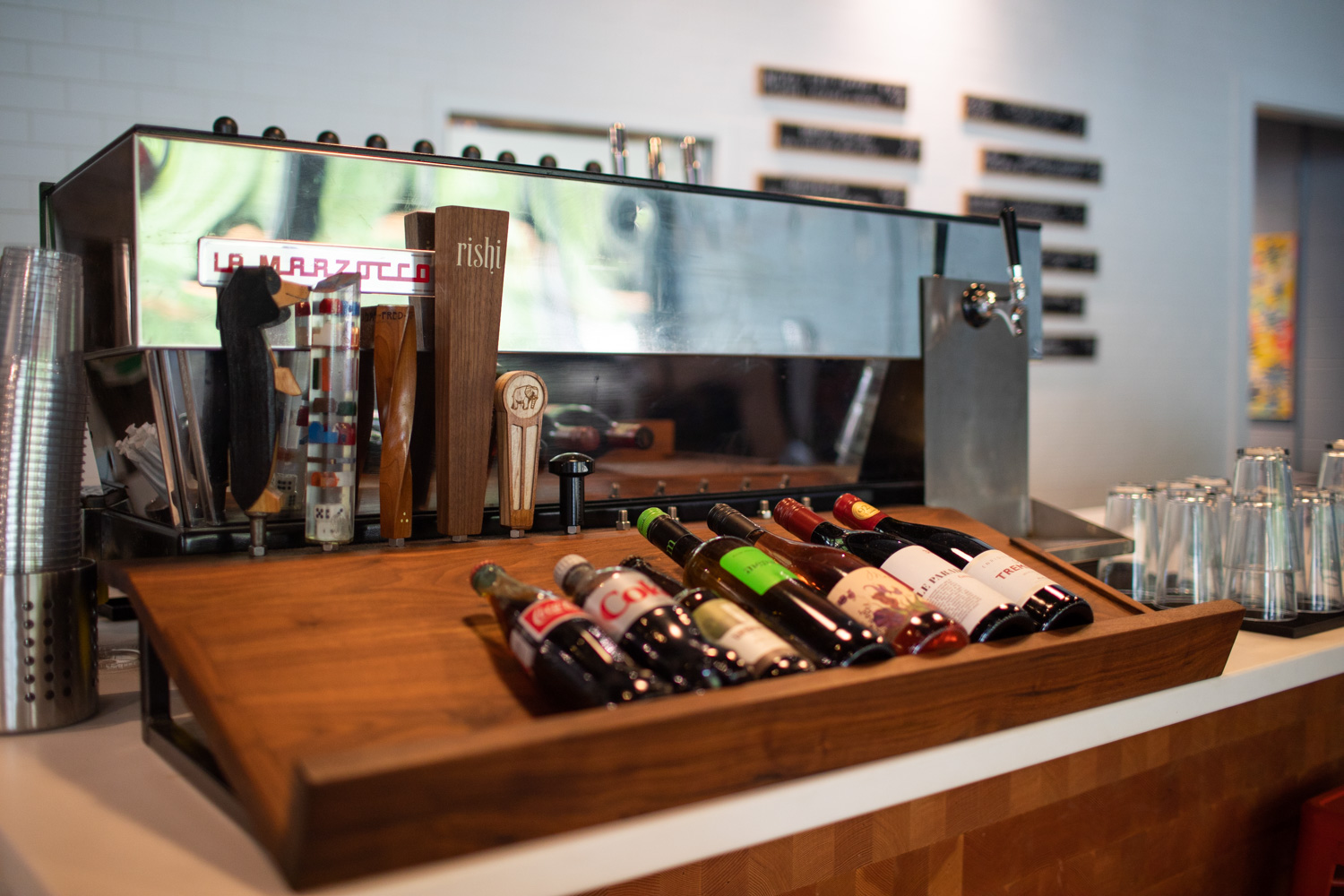 If beer/coffee/tea is not your style, you could always go for wine…