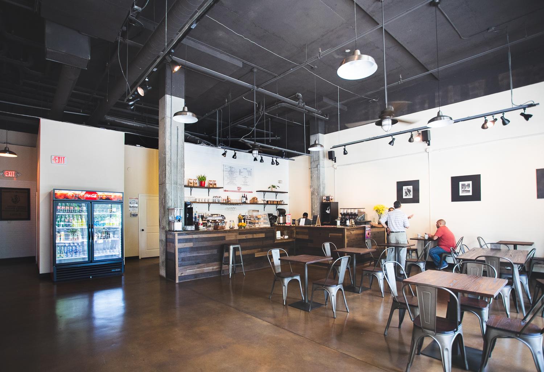 Interior of Caffé Bella.