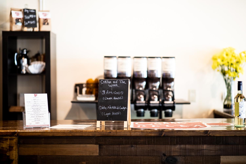 Caffé Bella has a rotating coffee menu every week.