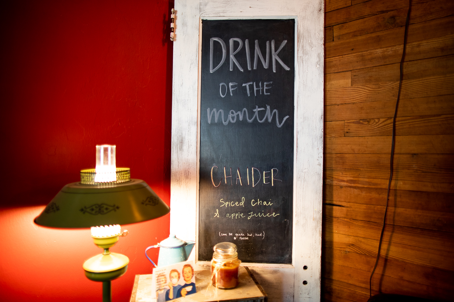 Drink of the month: chaider.