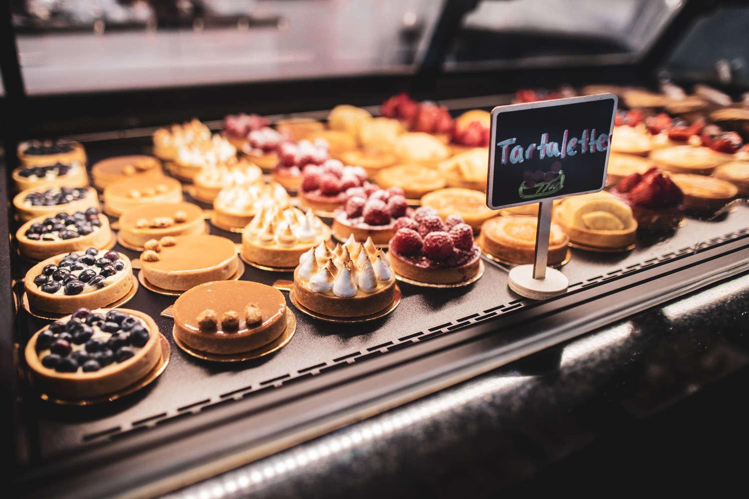 Tartelettes—a chef's assortment of delicious tartes.