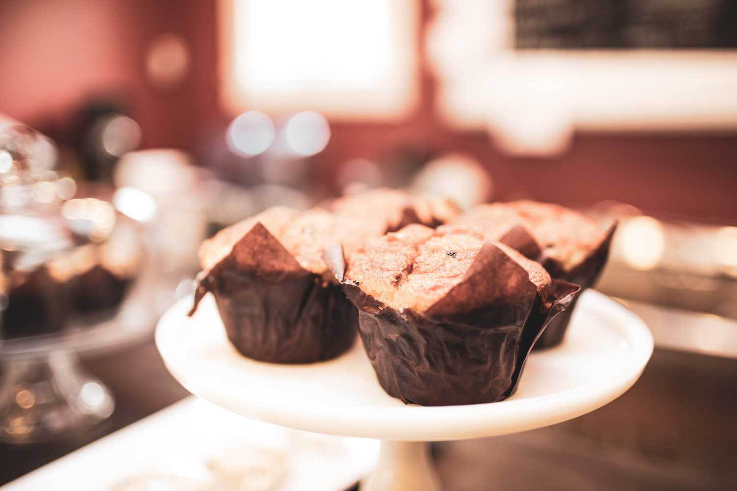 Muffins at Independent Grounds Cafe.