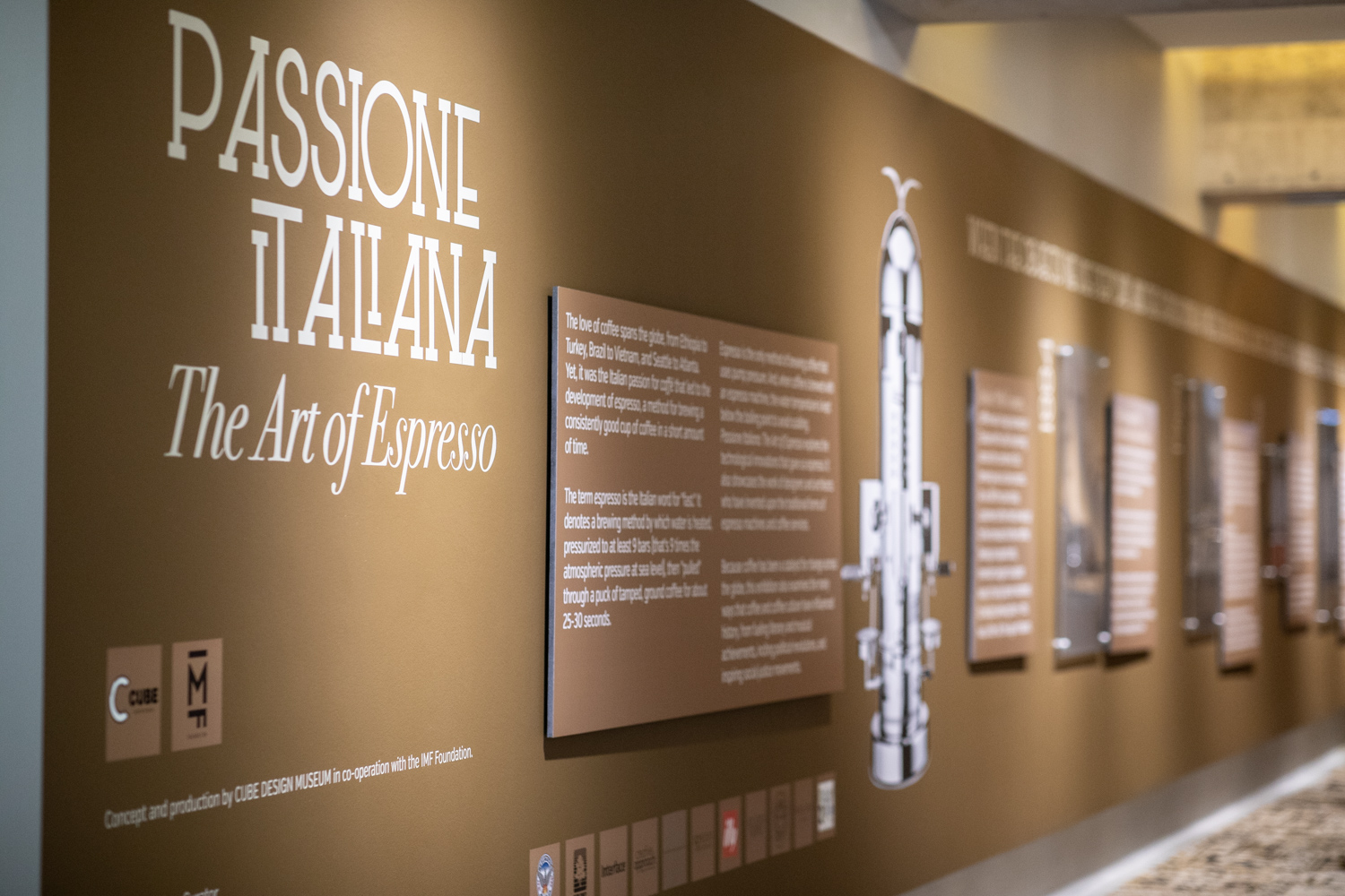 Another view of the  Passione Italiana  exhibition at MODA.