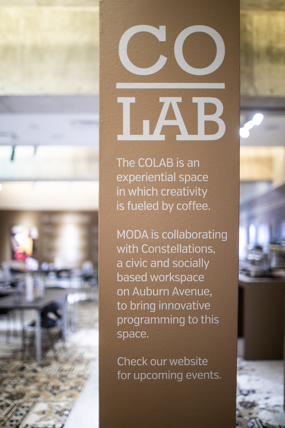 MODA's partnership with Co.Lab.