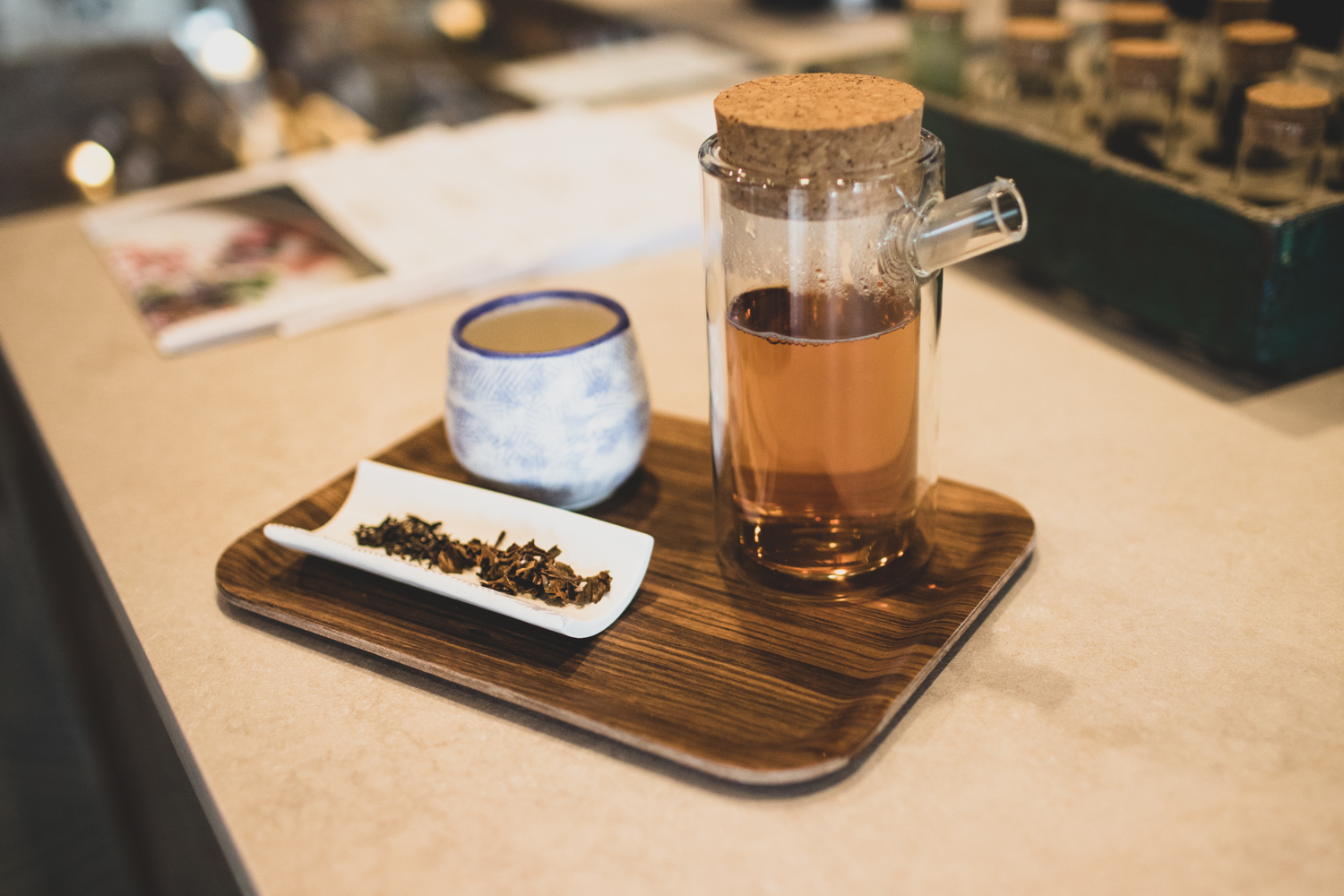 Tea drinkers will appreciate a very strong focus on tea at Cold Brew Bar.  Profiled on the @coldbrewbar Instagram here .