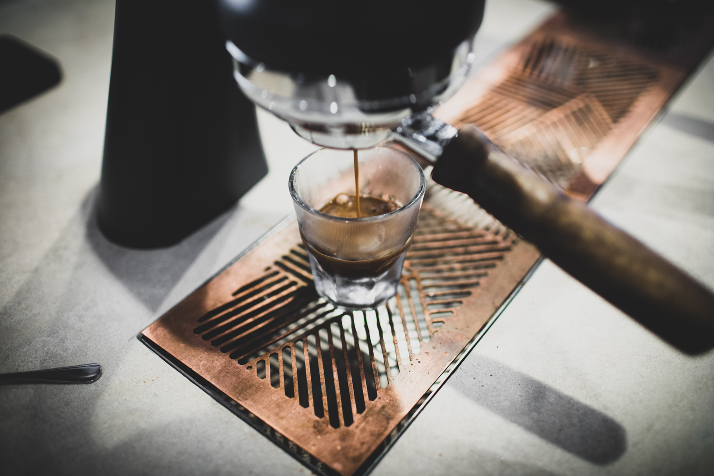 Espresso pull.