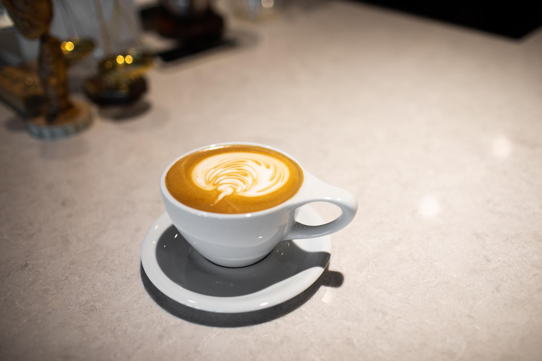 A classic cappuccino.