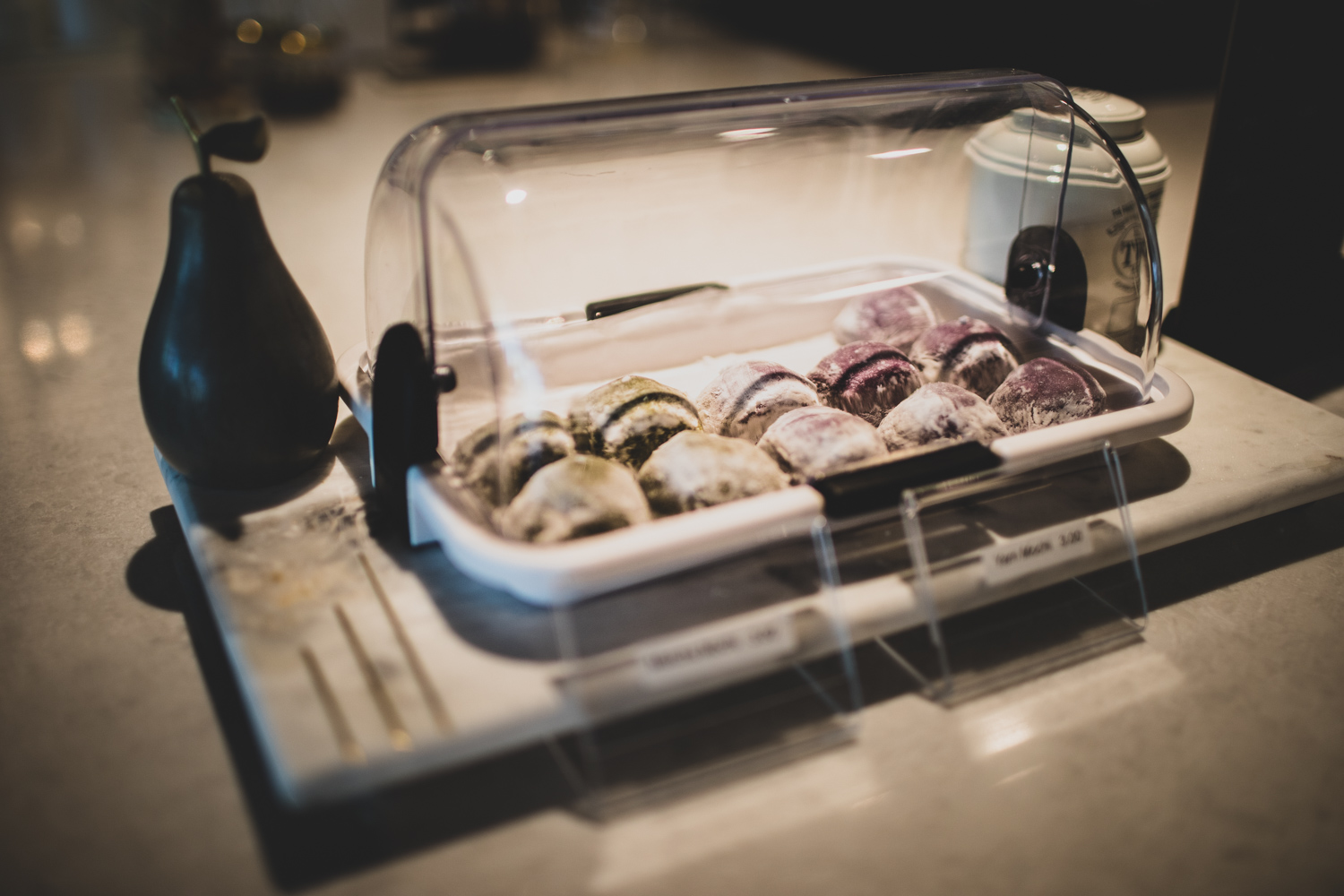 The mochi at Alchemist Trading Co.