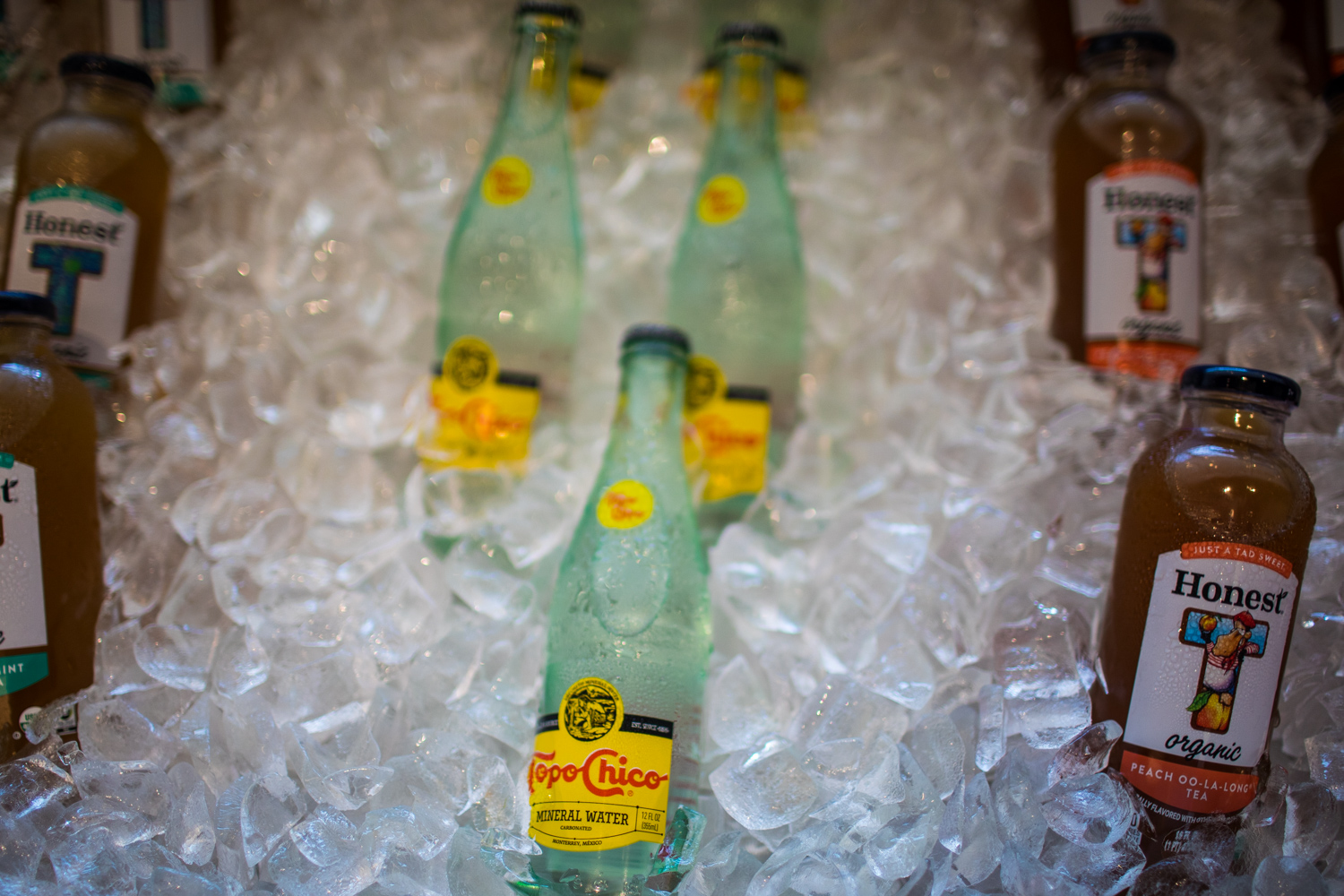 There is plenty of  Topo Chico !