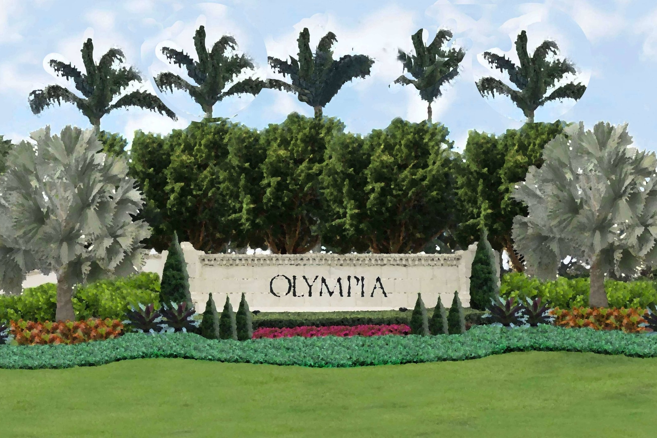 - Olympia, WellingtonInsite Studio is working with the exclusive resort-style community, Olympia to restore and redevelop the landscaping throughout the community damaged by Hurricane Irma in August, 2017.