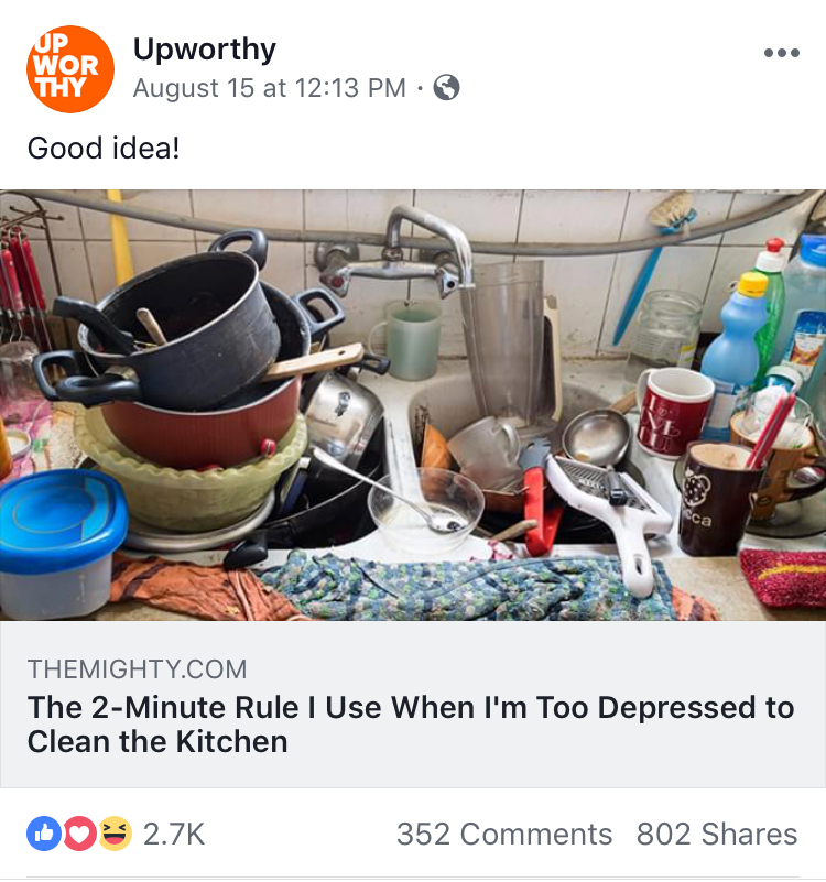 Upworthy Repost of My Kitchen Article.