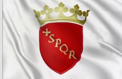 Rome Flag (SPQR = Senate and the People of Rome)