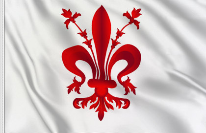 Flag of Florence (Firenze)