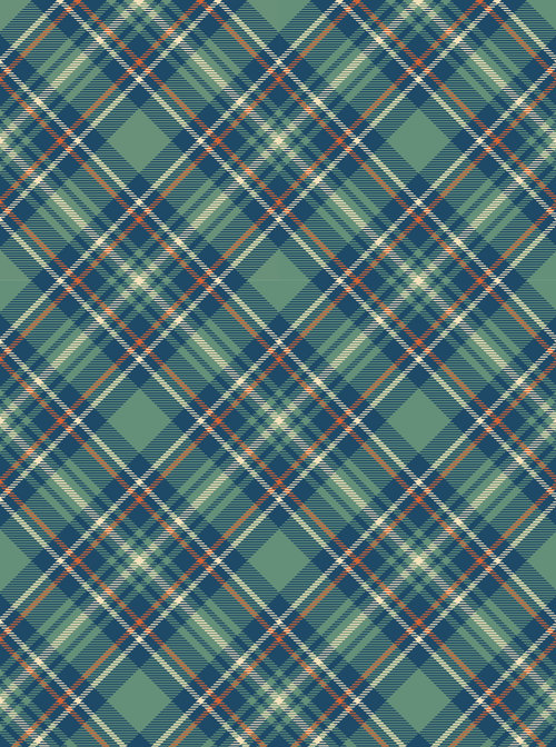 Background #9 (plaid Your Choice of Color)
