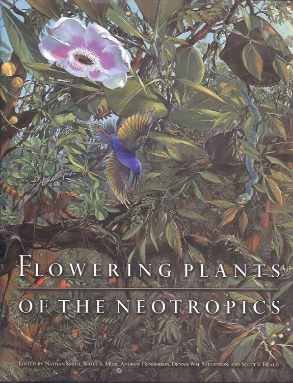 Flowering Plants of the Neotropics .  Nathan Smith et al. Princeton University Press. Pen and ink illustrations highlight and define plant families found in new world tropics.