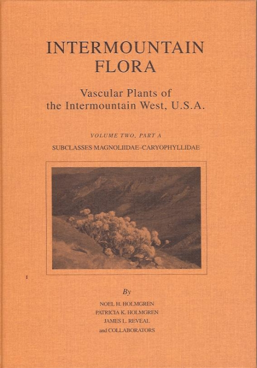 Intermountain Flora . Holmgren, Holmgren et al. 7 volumes, featuring over 1200 of my pen and ink illustrations of plants from the western U.S, drawn from herbarium specimens, starting at the beginning of my career in 1979 and continuing til the final volume published in 2017. Volume 7 contains bios of the authors and artists, including a thorough bio of me written by Noel Holmgren..