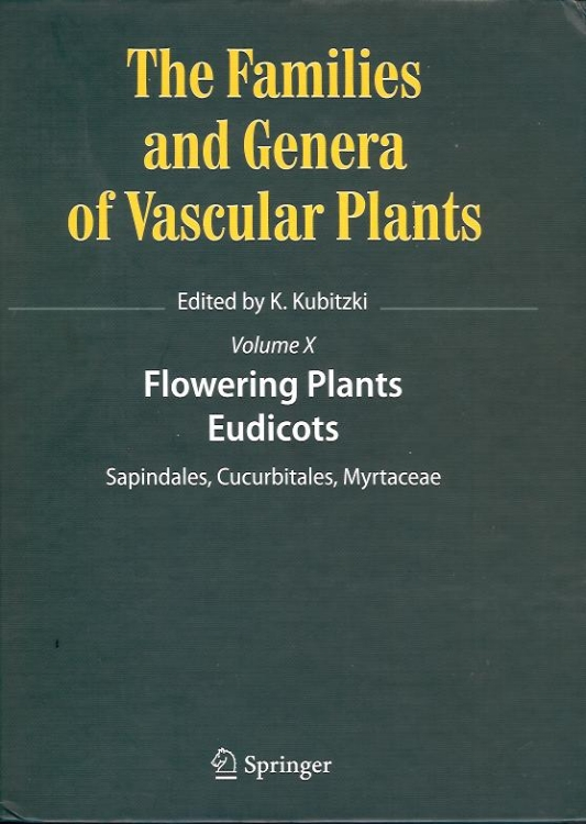 The Families and Genera of Vascular Plants  is an ongoing series of treatments of plant families. Volume 8 contains several illustrations done for botanists at NYBG, BBG and Smithsonian.