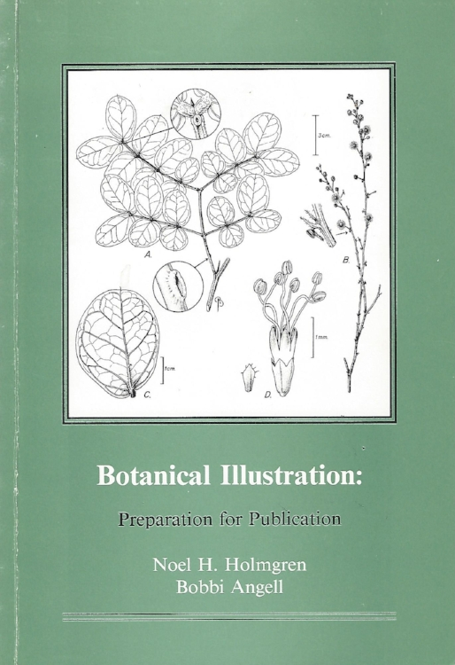 Botanical Illustration: Preparation for Publication . Noel H. Holmgren and Bobbi Angell. NYBG Press. Long out of print, but still highly regarded for advice for producing and publishing scientific illustrations.