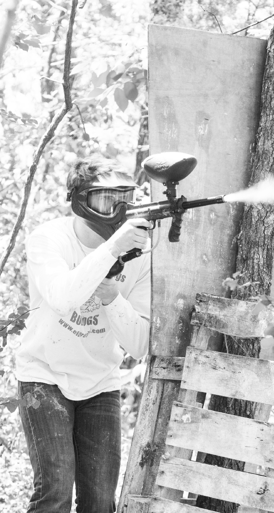 <span>It Only Hurts A Little.</span>Paintball