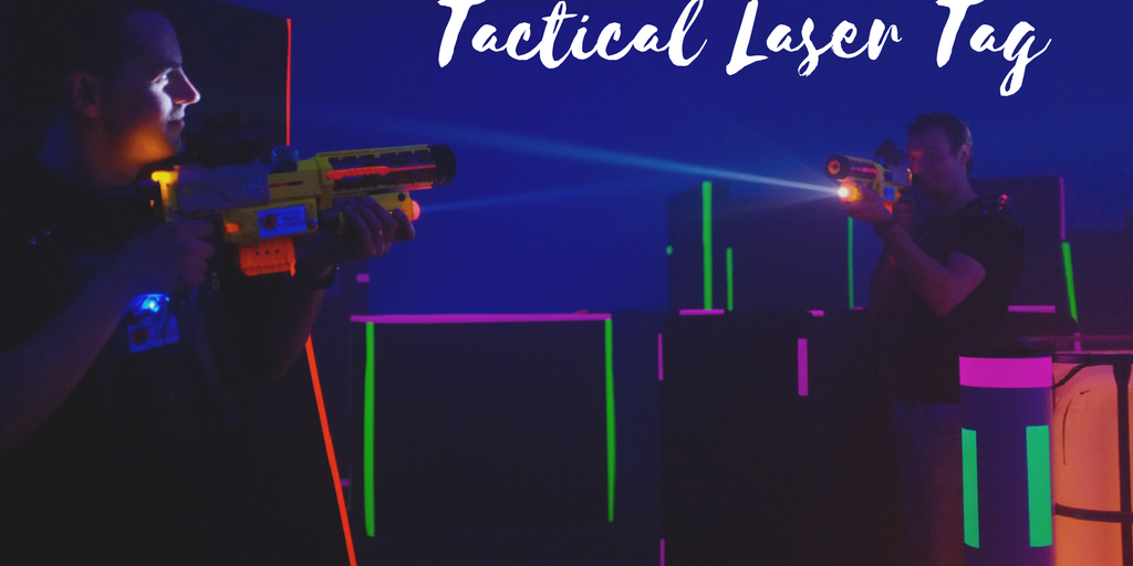 Tactical Laser Tag is a Fun Way to Start Your New Year's Fitness Goals