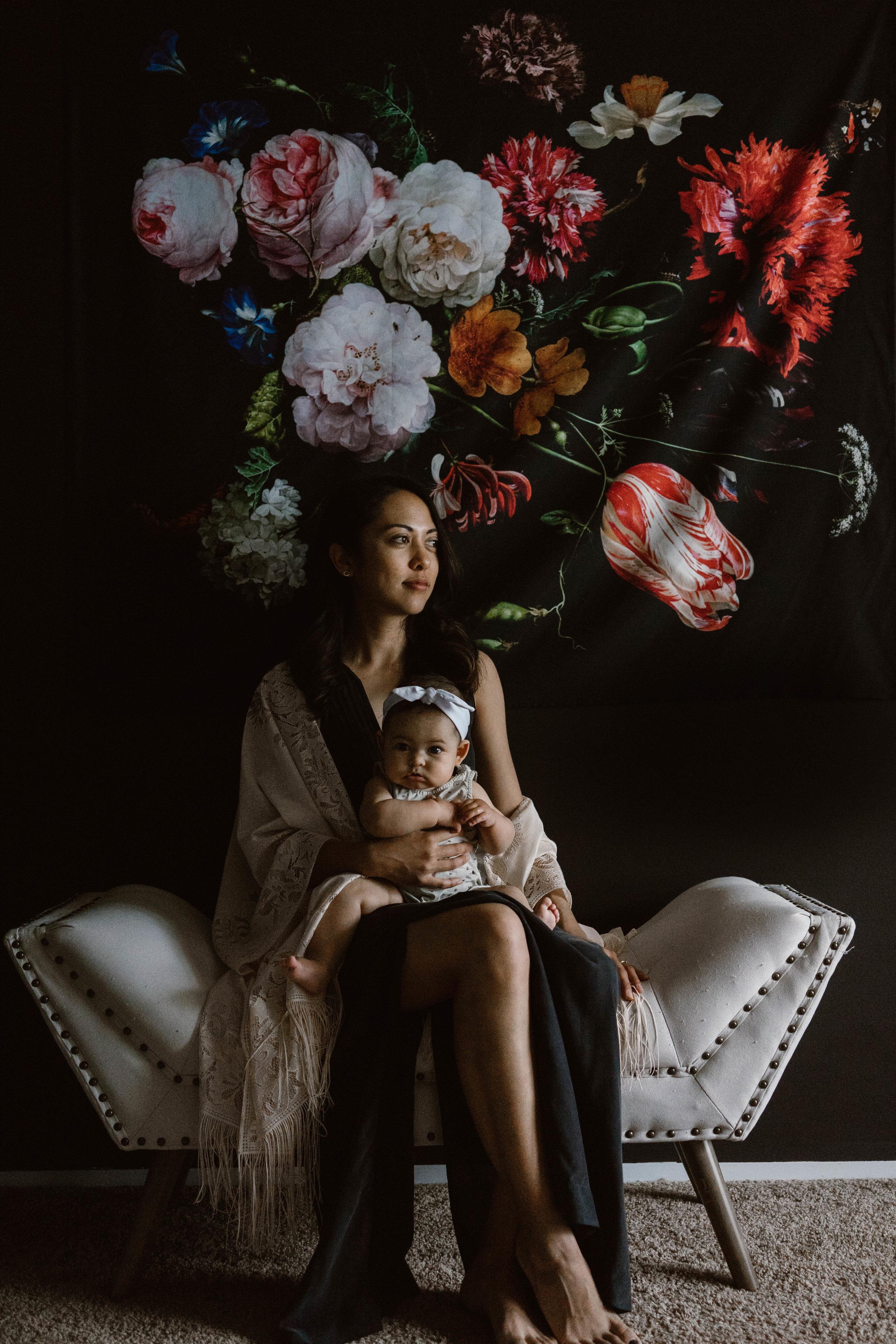 CHANTAL + JASON + VERA   click to see mother's day
