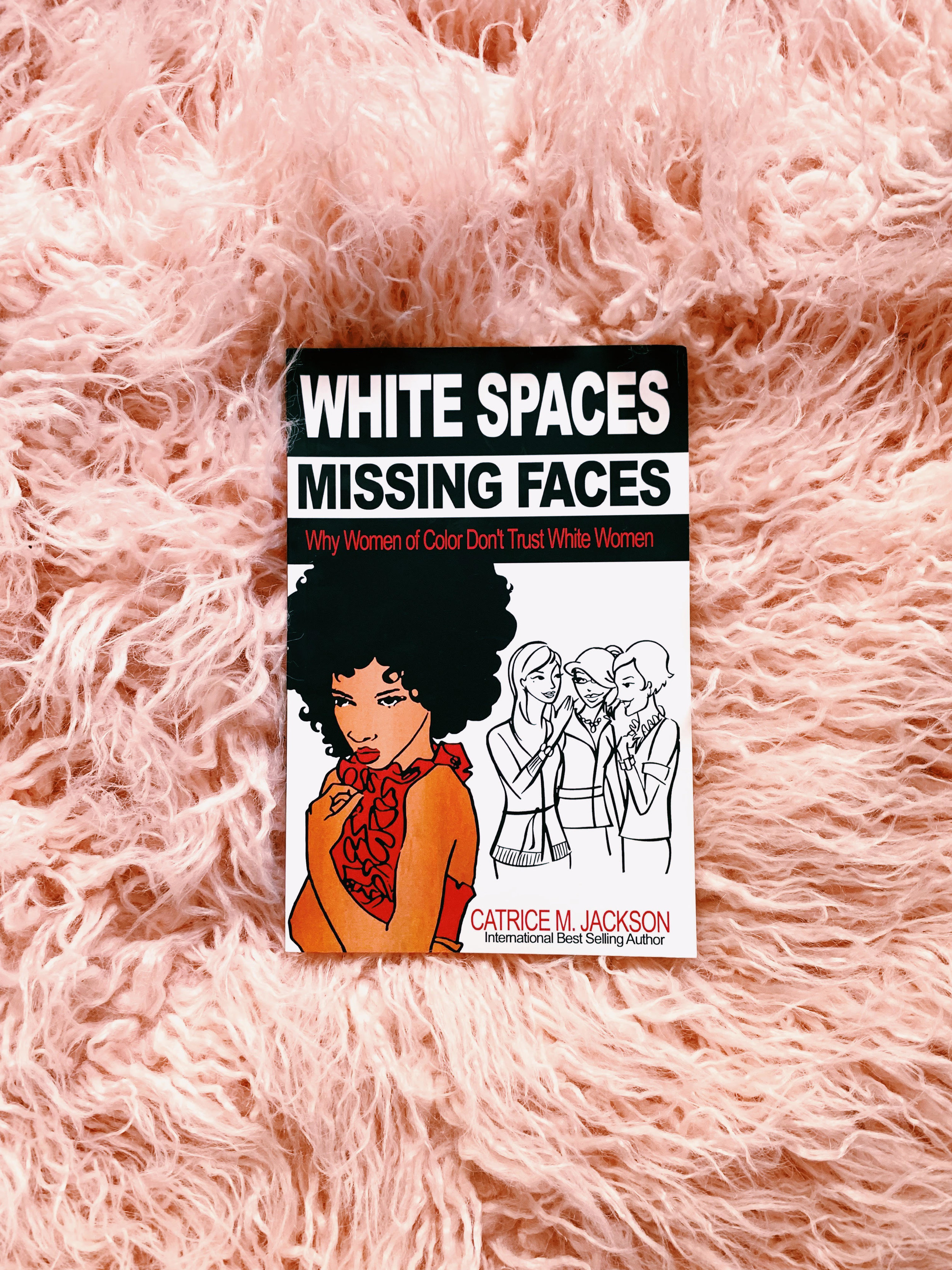 White Spaces Missing Faces  by Catrice M. Jackson
