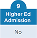 Higher Ed Admission