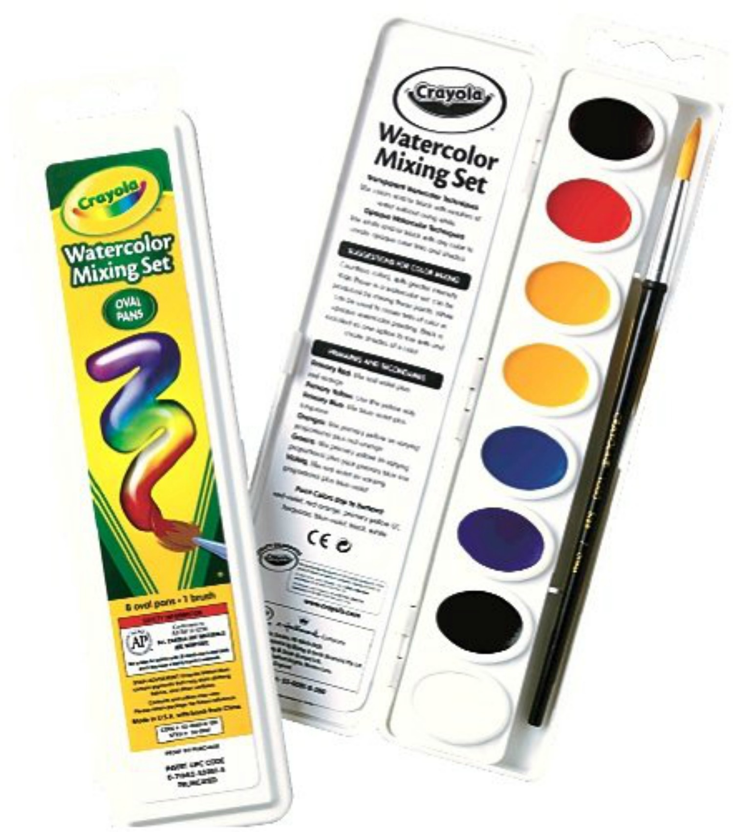 Copy of Crayola Watercolors & Brush