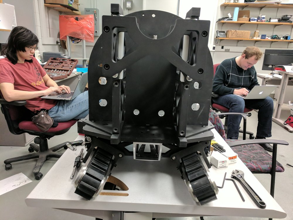 The Making of Radpiper - Photos of the mechanical development of Radpiper and the poeple doing it