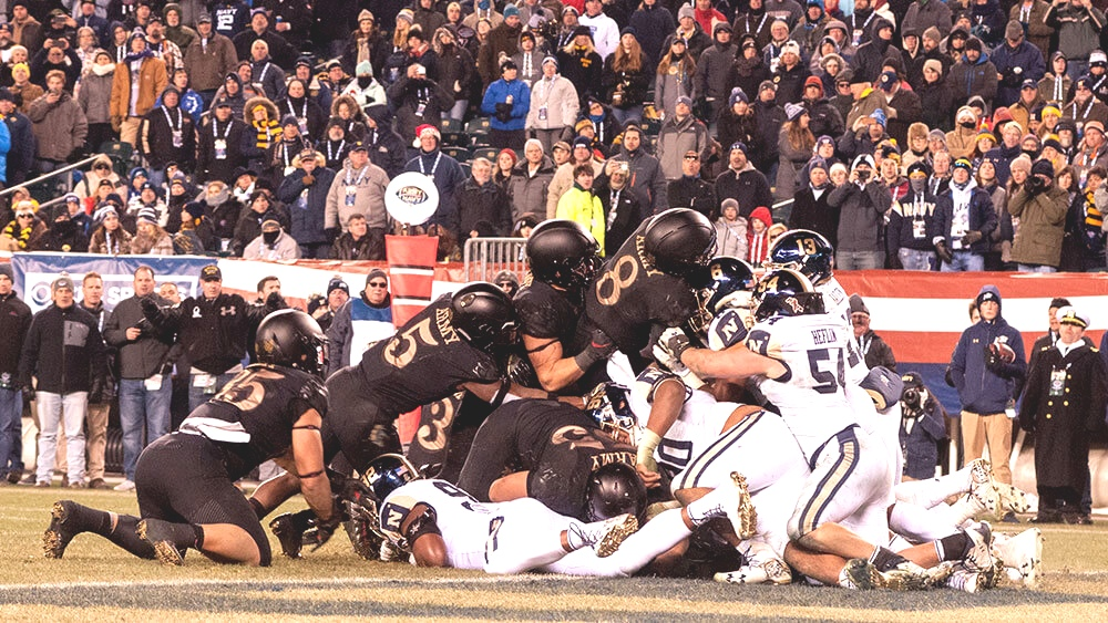 Army-Navy 2018, a 120 year rivalry.