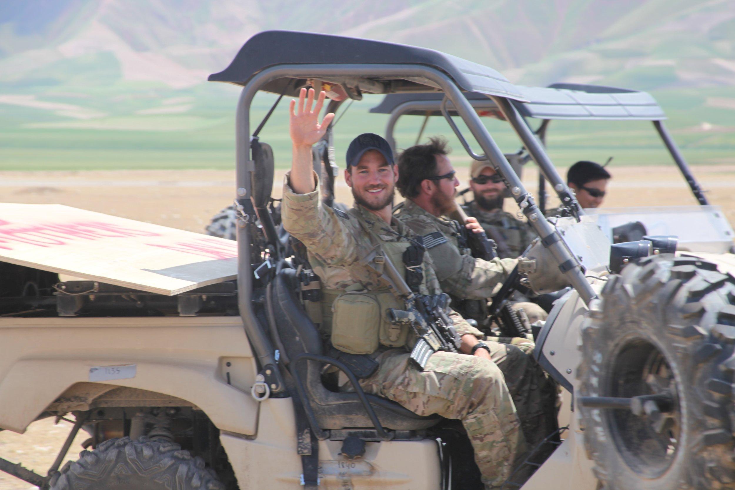 Bobby Barrios Jr. with ODA 1211, Afghanistan, 2012