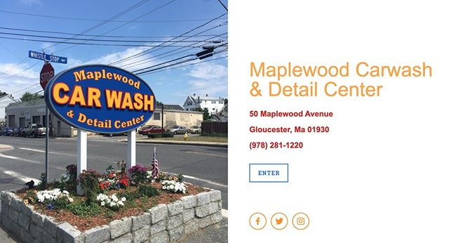 Put it in neutral & drive out clean. Check out www.maplewoodcarwash.com for all of our package deals! Choose a different one each week! #MaplewoodCarwash #GloucesterMa #Carwash #CleanCar #InsideAndOut #LocalBusiness #GloucesterBiz
