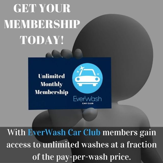 Sign up for EverWash here at Maplewood Carwash. Unlimited Use - Wash your car as often as you want. Wash every single day if you'd like.  #MaplewoodCarwash #GloucesterMa #Carwash #CleanCar #InsideAndOut #ShopLocal #LocalBusiness #GloucesterBiz #EverWash