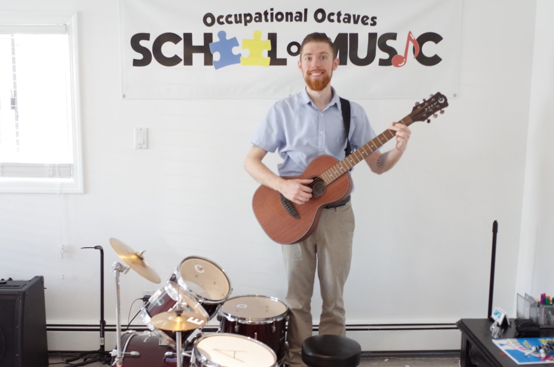 Michael Russo, Our Board-Certified Music Therapist & Experienced Occupationa Octaves Instructor